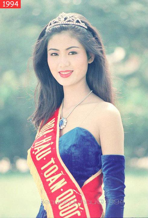 Những Hoa hậu Việt Nam thập niên 90 'bí ẩn' nhất  3