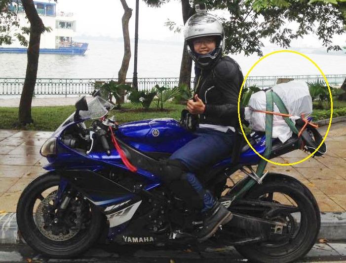 Cô gái đi xuyên Việt bị mất ba lô 'tiền' 3