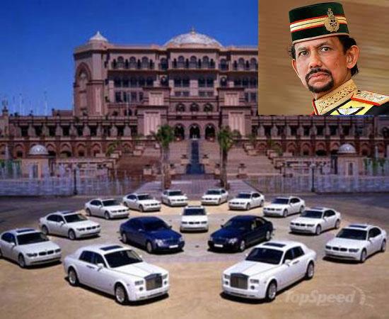 Đời sống xa hoa của quốc vương Brunei 3