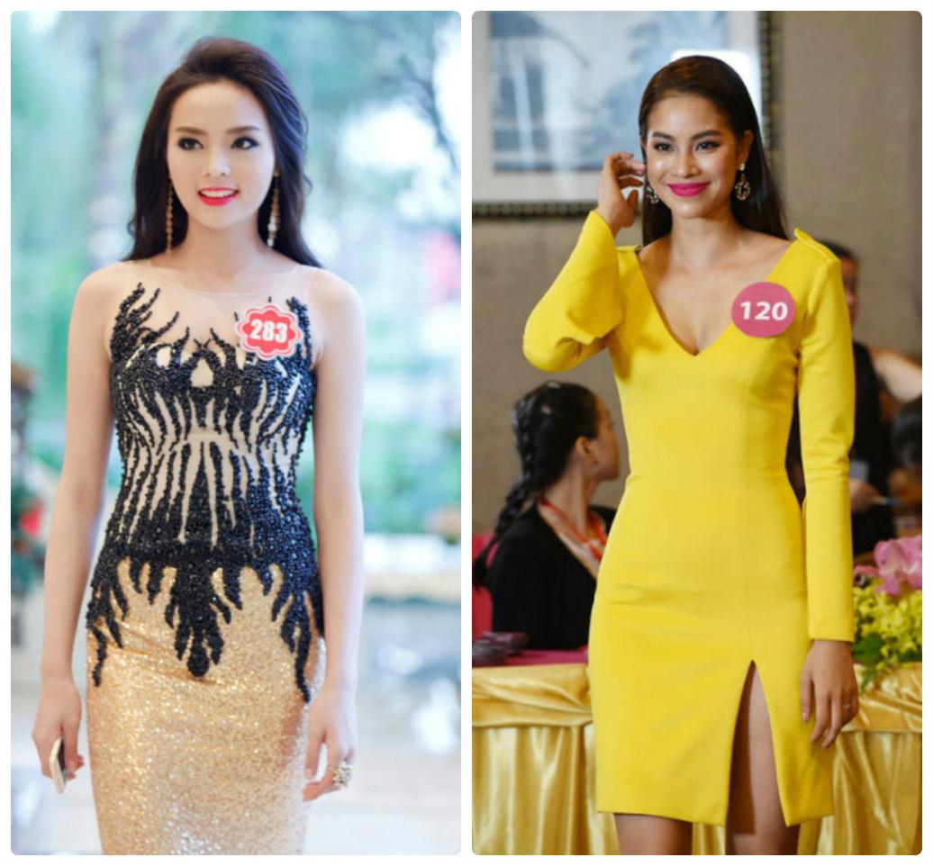 Đặt Hoa hậu Kỳ Duyên - Phạm Hương lên