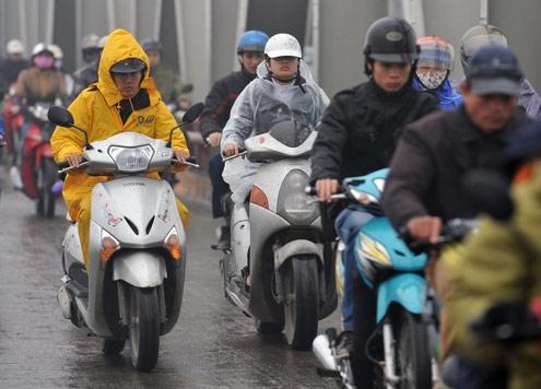 Miền Bắc trời mưa rét, Hà Nội có nguy cơ ngập úng 1