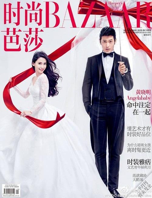 Huỳnh Hiểu Minh đeo tạp dề, rửa bát sau kết hôn 2
