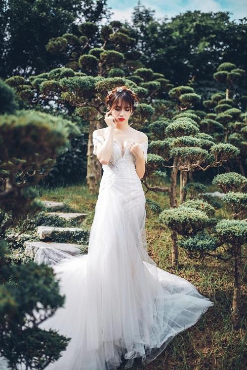 Hương Giang Idol đẹp khó cưỡng khi lần đầu làm cô dâu 7