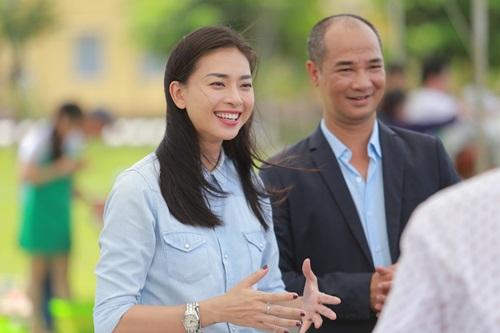Ngô Thanh Vân truyền lửa cho thí sinh Vua đầu bếp 2015 1