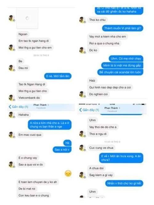 Loạt tin nhắn giữa hôn phu của Midu và hot girl 17 tuổi gây xôn xao 2