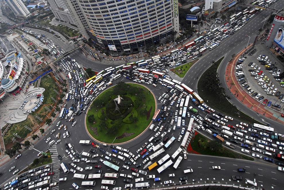 Cảnh tắc đường khủng khiếp ở VN và các nước trên thế giới 14