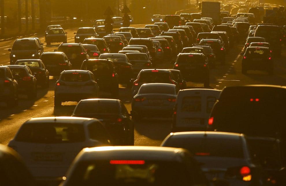 Cảnh tắc đường khủng khiếp ở VN và các nước trên thế giới 23
