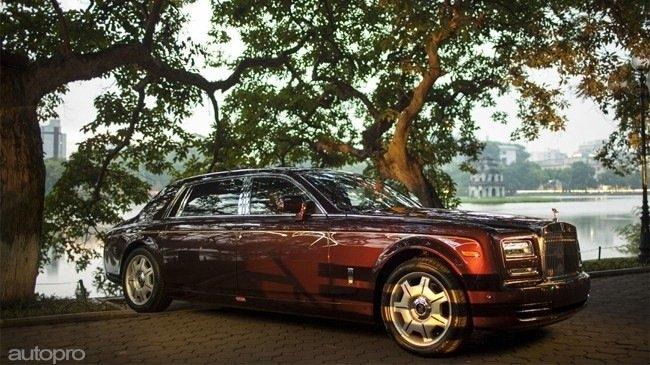 Siêu xe Rolls-Royce Phantom 43 tỷ của đại gia