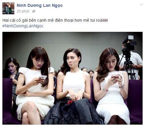 Facebook sao Việt: Chồng Diễm Hương gọi vợ là