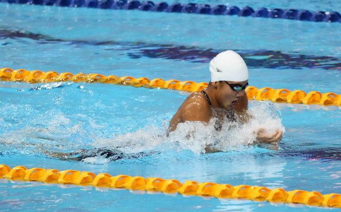 Ánh Viên không có đối thủ tại giải bơi quốc gia 2015 1