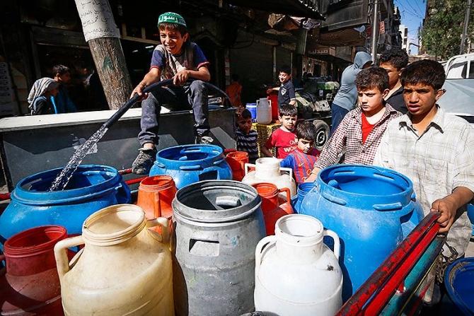 Điện thoại thông minh là chìa khoá giúp tìm ra nguồn nước ở Syria 1