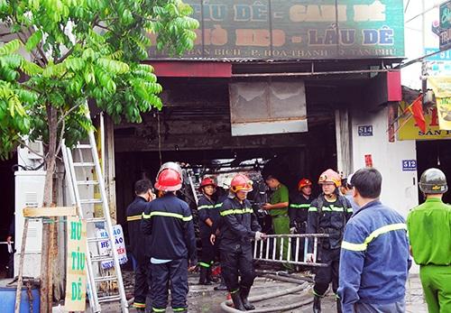 Sập nhà sau tiếng nổ lớn ở Sài Gòn, hai mẹ con ôm nhau tử vong 1