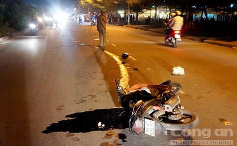 Tai nạn liên hoàn trong đêm, 4 người nguy kịch 1