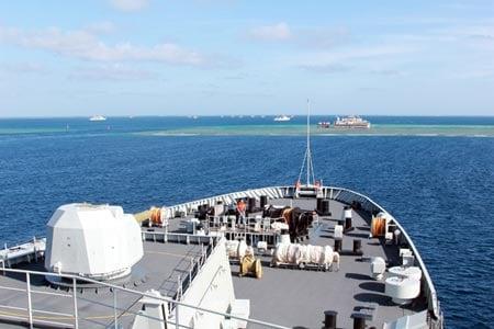 Báo Trung Quốc công kích tàu chiến Mỹ tại Biển Đông 1