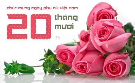 Lời chúc 20/10 hay và ý nghĩa dành tặng Ngày Phụ nữ Việt Nam 1