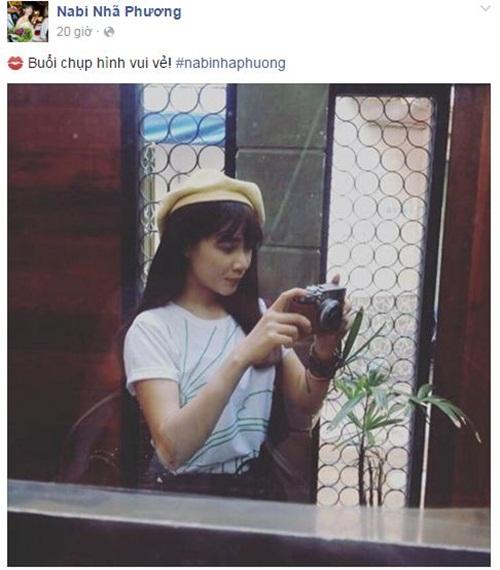 Facebook sao Việt: Lưu Thiên Hương tiết lộ là hàng xóm của Hà Tăng 13