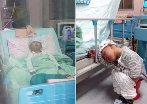 Bé trai 4 tuổi bị bệnh xin được chôn vì quá đau đớn 1