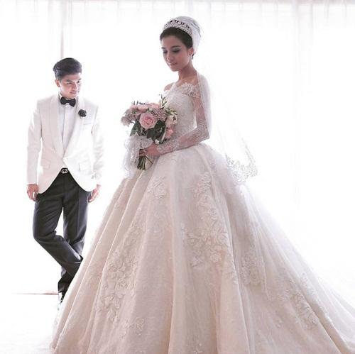 Đám cưới xa hoa, hoành tráng không thua kém Huỳnh Hiểu Minh của diễn viên Indonesia 12