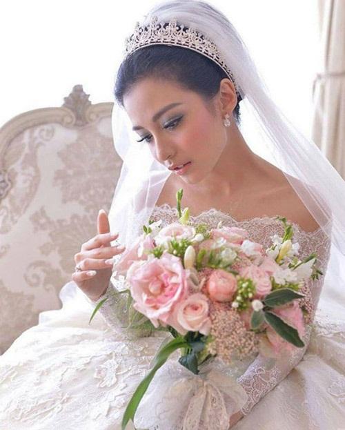 Đám cưới xa hoa, hoành tráng không thua kém Huỳnh Hiểu Minh của diễn viên Indonesia 11