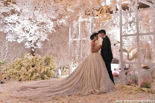 Đám cưới xa hoa, hoành tráng không thua kém Huỳnh Hiểu Minh của diễn viên Indonesia 6
