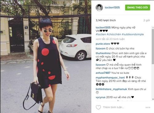 Facebook sao Việt: Đan Lê vui miệng