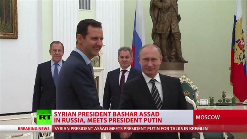 Tổng thống Syria bất ngờ sang Nga để thảo luận chiến dịch quân sự 2