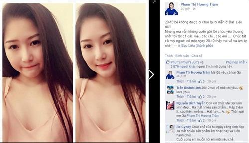 Facebook sao Việt: Tâm Tít khoe khoảnh khắc đáng yêu của con trai 15