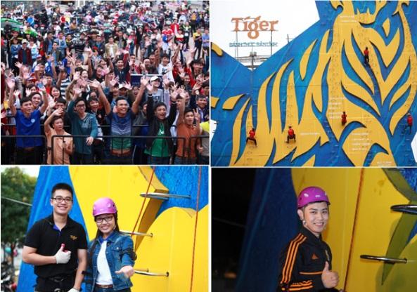 Giới trẻ nô nức với thử thách tường cao nhất Việt Nam 2