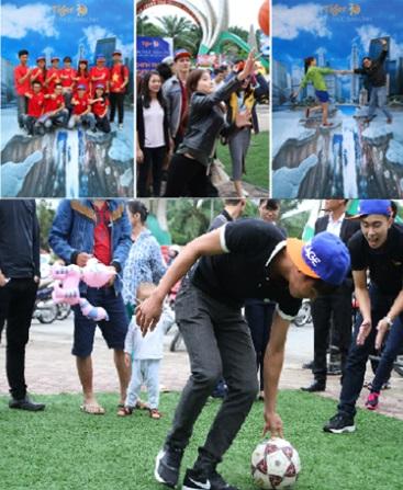 Giới trẻ nô nức với thử thách tường cao nhất Việt Nam 3
