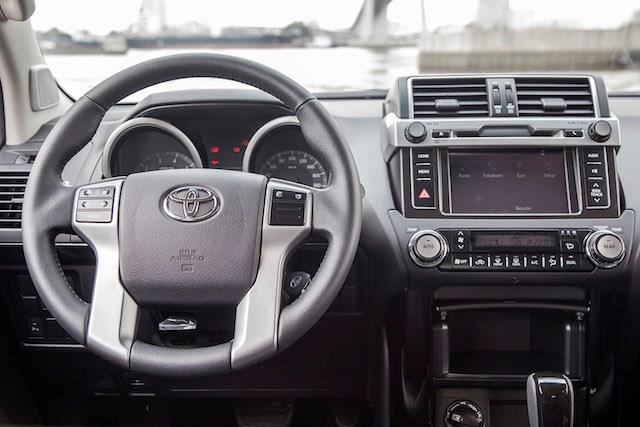 Toyota Land Cruiser Prado 2015 giá 2,192 tỷ đồng tại Việt Nam 3
