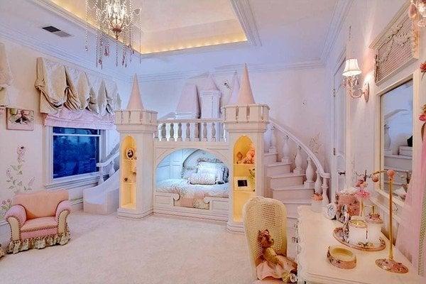 Ngắm phòng ngủ đắt giá của con nhà giàu nước Anh 2