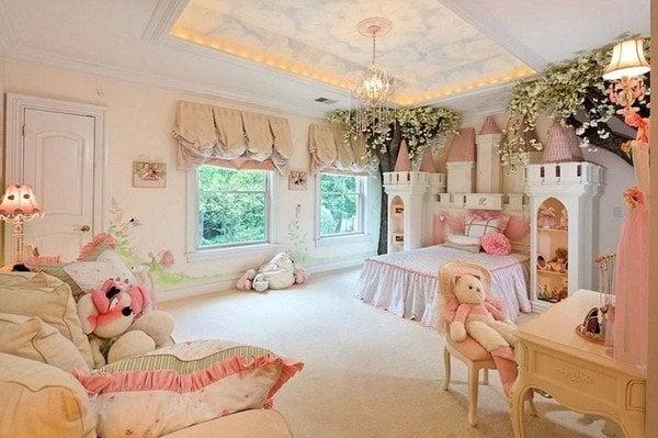 Ngắm phòng ngủ đắt giá của con nhà giàu nước Anh 4
