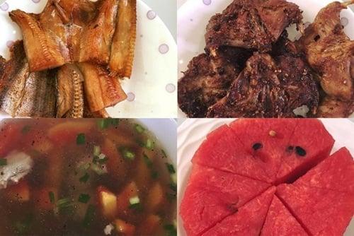 Ngọc Trinh và bữa cơm với thịt chuột, cá khô trong căn nhà tiền tỷ 2