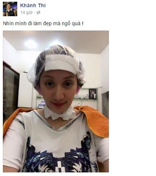 Facebook sao Việt: Diễn viên Văn Anh hóa cô dâu hài hước 3