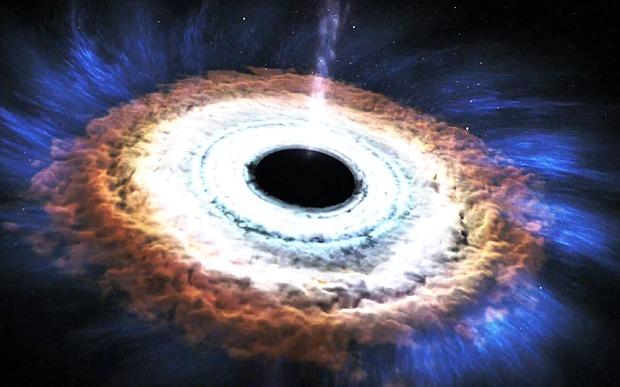 Cận cảnh một ngôi sao bị hố đen tàn phá, nuốt chửng 2