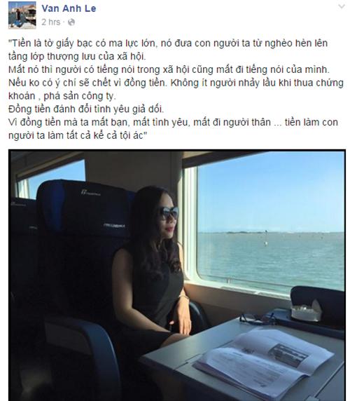 Vợ đại gia K.Nam Phi 'đá xéo' Hồ Ngọc Hà? 1