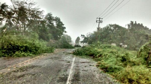 Cảnh tượng bão Patricia đổ bộ vào Mexico 5