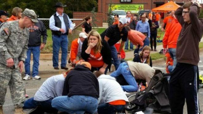 Mỹ: Nữ tài xế say rượu tông thương vong gần 50 người 3
