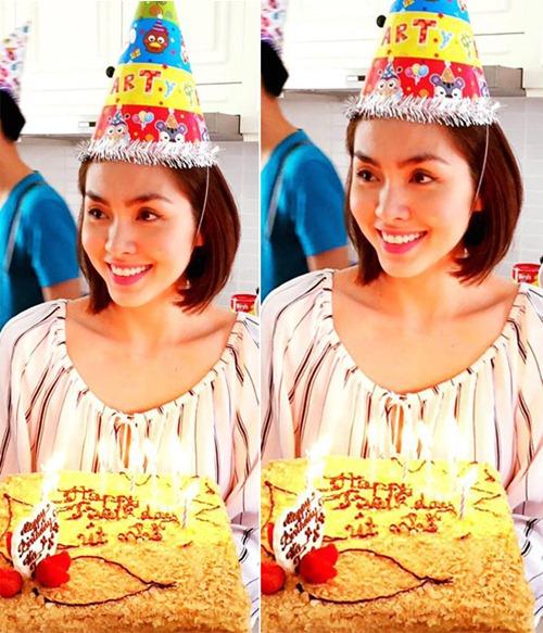 Tăng Thanh Hà đón sinh nhật giản dị bên gia đình 1