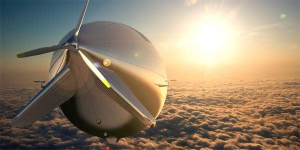 Chế tạo thành công khinh khí cầu lớn nhất thế giới chạy năng lượng mặt trời 1
