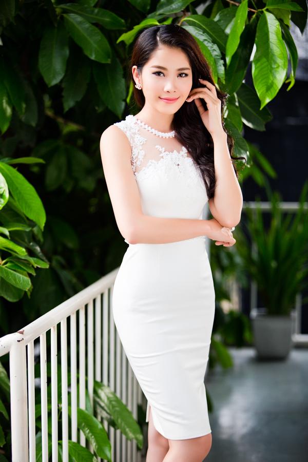 Vẻ đẹp trong trẻo của Nam Em được ví như Hoa hậu Thu Thảo 3