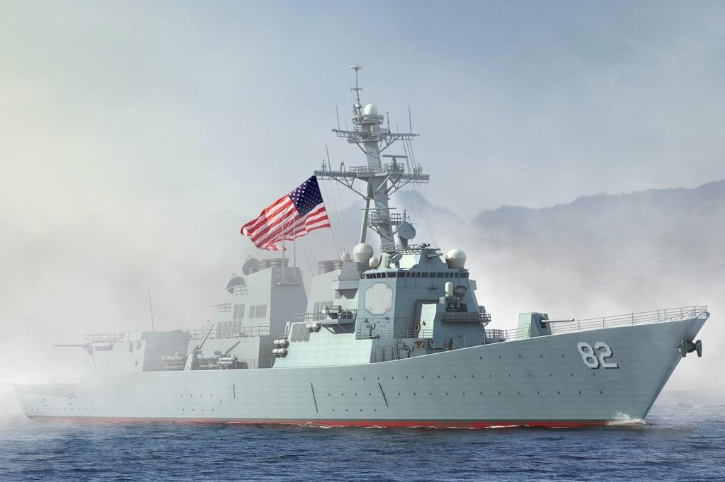 Tàu hải quân Trung Quốc theo dõi tàu chiến Mỹ gần Trường Sa 1