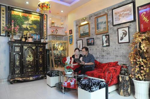 Danh hài Hồng Tơ tiết lộ nhà riêng 1