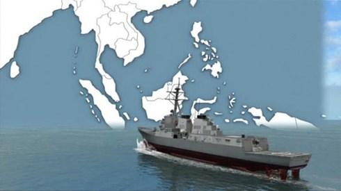 Mỹ tuyên bố tiếp tục đưa tàu chiến tuần tra Biển Đông 1