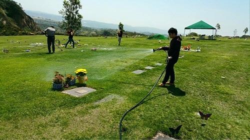 Quang Lê lên tiếng giải thích sau sự cố ngồi lên mộ  5