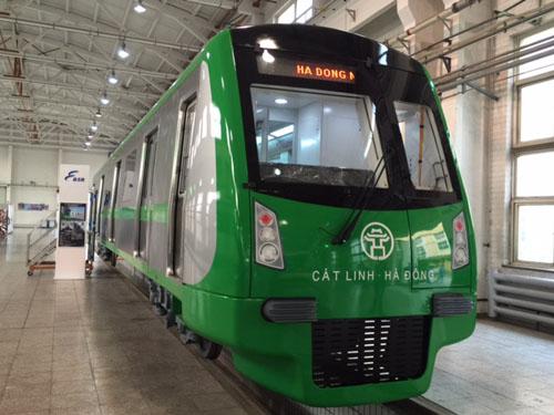 Tàu đường sắt Cát Linh - Hà Đông