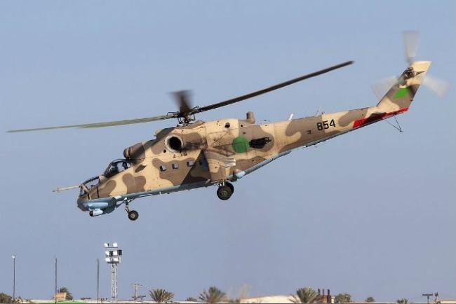 Trực thăng bị bắn hạ ở Libya, 23 người thiệt mạng 1