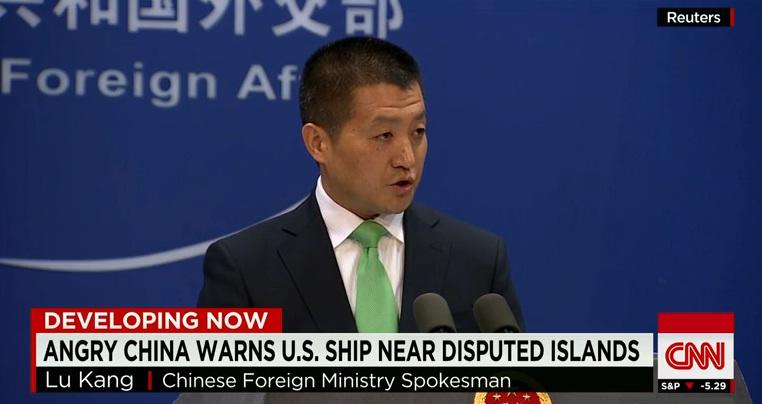 Trung Quốc nổi giận khi Mỹ tiếp tục áp sát đảo nhân tạo tại Biển Đông 1