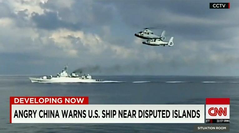 Trung Quốc nổi giận khi Mỹ tiếp tục áp sát đảo nhân tạo tại Biển Đông 2