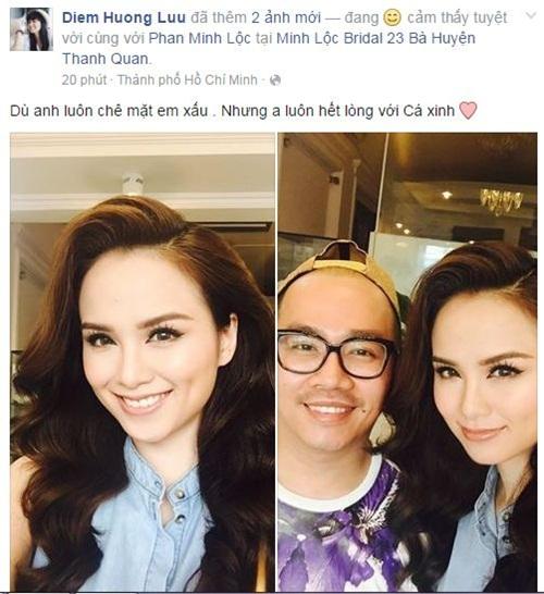 Facebook sao Việt: Khánh Thi tâm sự với con trai đầy tình cảm 11